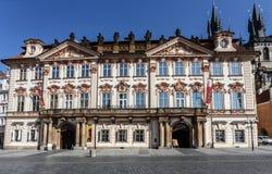 National Gallery In Prague, Czech Republic Royalty Free Stock Photos