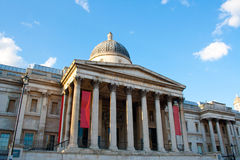 National Gallery, Londen Stock Fotografie