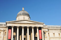 National Gallery, Londen Stock Foto's