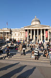 National Gallery, Londen Stock Afbeeldingen