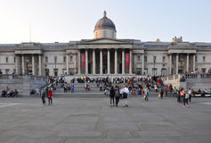 National Gallery, Londen stock foto