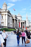 National Gallery Londen Royalty-vrije Stock Afbeelding