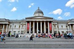 National Gallery Londen - Engeland het Verenigd Koninkrijk Stock Foto's