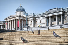 The National Gallery, London. Stock Photo