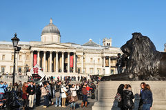 National Gallery, London Stockbilder