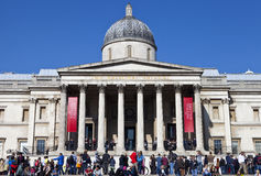 The National Gallery in London Stock Photos