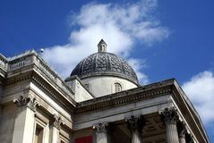 National Gallery in London, England Royalty Free Stock Photography