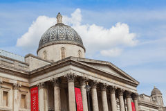 The National Gallery London England Royalty Free Stock Photography