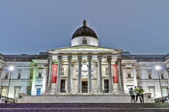 National Gallery at London, England Stock Photos