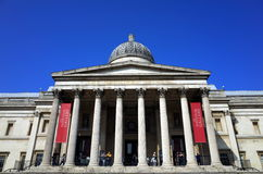 National Gallery in London Royalty Free Stock Images