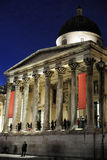 National Gallery, London, England, UK, at night Royalty Free Stock Photos