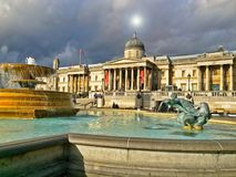 National Gallery London stock photography