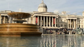 National Gallery, London stock video