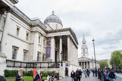 The National Gallery, London royalty free stock photos