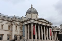 National Gallery, London Royalty Free Stock Image
