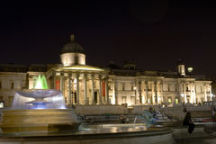 National Gallery in London Stock Photography