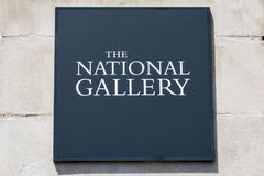 The National Gallery in London Royalty Free Stock Photography