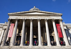 National Gallery in London Royalty Free Stock Photo