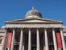 National Gallery in London Stock Images
