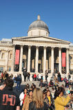 National Gallery, Londres Foto de Stock Royalty Free