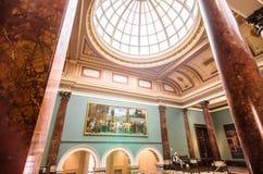 National Gallery, Londres - templo da cultura fotografia de stock