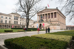 National Gallery museum, Berlin Germany Royalty Free Stock Photo