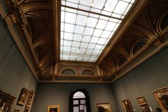 National gallery. Museum in London Stock Photography