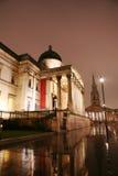 National Gallery nachts Lizenzfreie Stockfotografie