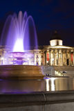 The National Gallery at night. Royalty Free Stock Photography