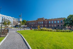 National Gallery of Norway and blue sky Royalty Free Stock Images