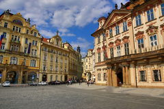 The National Gallery, Old Buildings, Old Town Square, Prague, Czech Republic Stock Photography