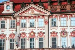 National Gallery Praga Zdjęcie Stock