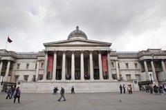 National Gallery que construye en Londres Foto de archivo libre de regalías