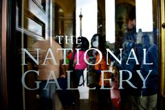 The National Gallery Stock Photo