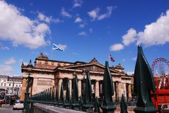 National Gallery of Scotland, national art gallery, Stock Photo