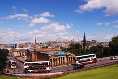 National Gallery of Scotland, national art gallery, royalty free stock images