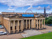 National Gallery scozzese Immagini Stock Libere da Diritti