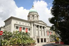 National Gallery Singapore Fotografia Stock Libera da Diritti