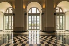 National Gallery Singapore, Iconic gränsmärke Royaltyfri Fotografi