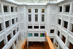 National Gallery Singapore Interior Courtyard Stock Images