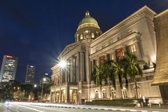 National Gallery Singapore, Supreme Court Wing Royalty Free Stock Photo