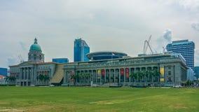 National Gallery Singapur foto de archivo libre de regalías