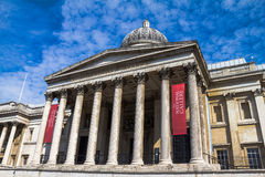 National Gallery in Trafalgar Squar. London. UK Stock Photography