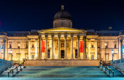 The National Gallery in Trafalgar Square Royalty Free Stock Photo
