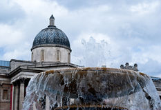 The national gallery at trafalgar square, london Royalty Free Stock Photos
