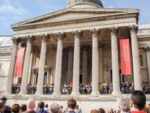 National Gallery at Trafalgar Square in London Royalty Free Stock Photos