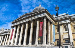 National Gallery in Trafalgar Square, London . UK Stock Photo