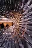 National Gallery van Art Moving Walkway stock afbeeldingen