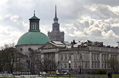 National Gallery Zacheta in Warsaw Stock Photos