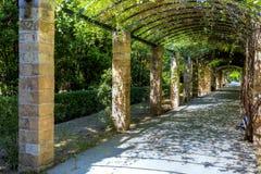 The National Garden(formerly the Royal Garden) of Athens Stock Photos